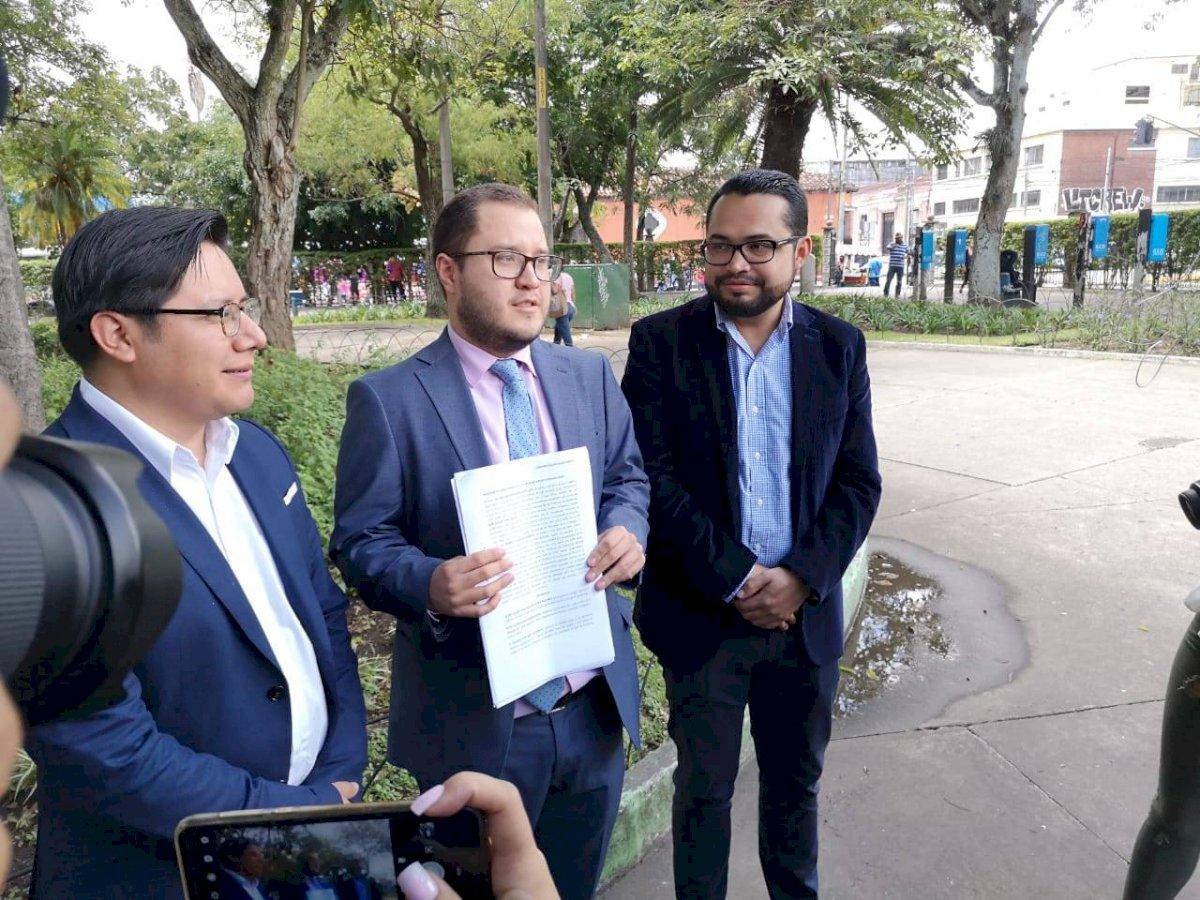 Acción Ciudadana y Alianza por las Reformas presentan amparo para que CICIG continúe en el país