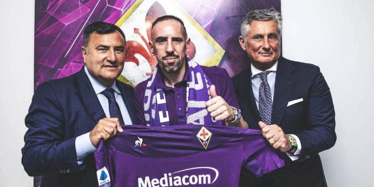 Fiorentina de Erick Pulgar golpea el mercado italiano con el fichaje de Franck Ribéry
