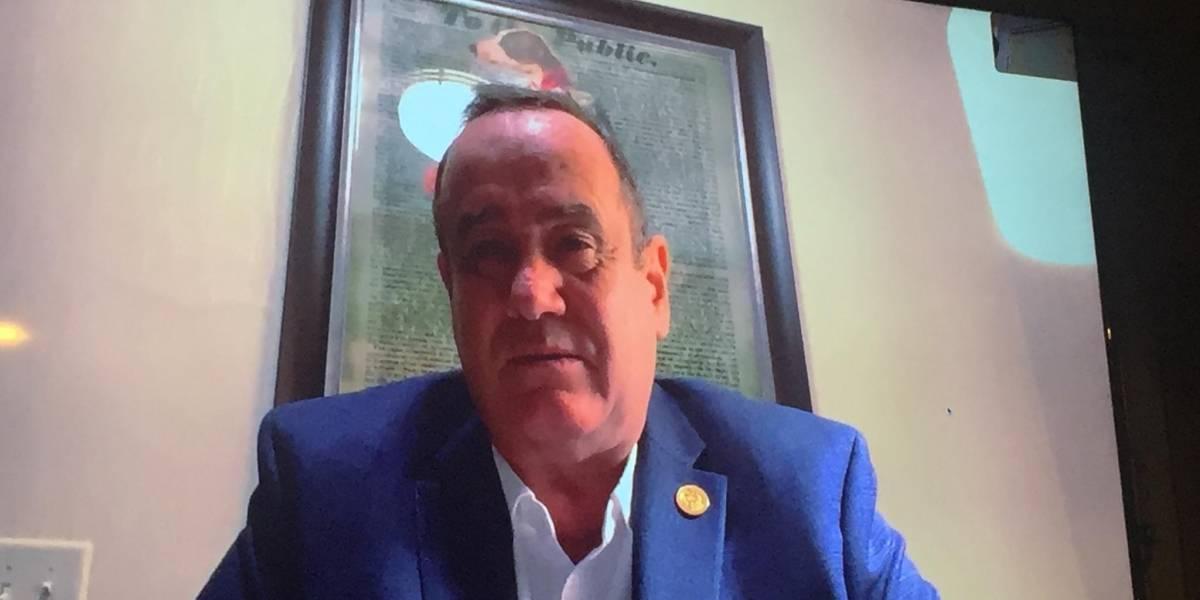 Giammattei se reúne con funcionarios de EE. UU. en busca de unificar agendas