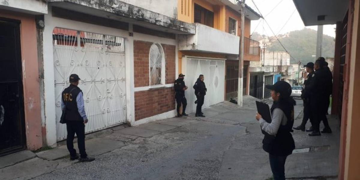 Capturan a implicados en cobro de extorsiones a transportistas de Mixco