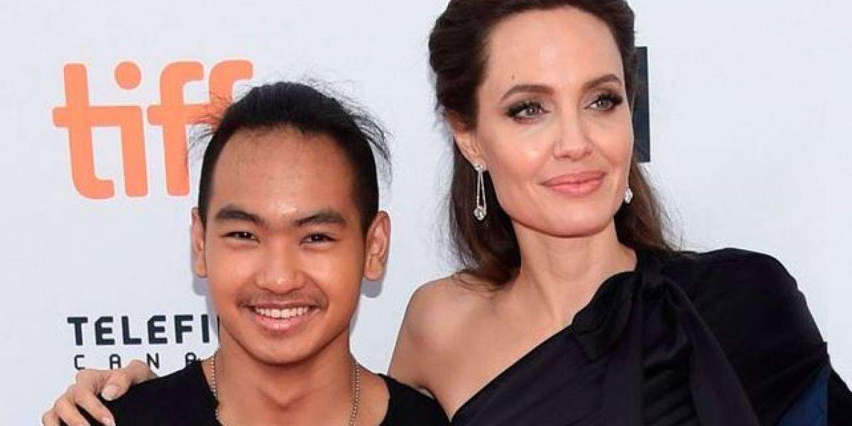 Angelina Jolie rompe en llanto a causa de su hijo Maddox