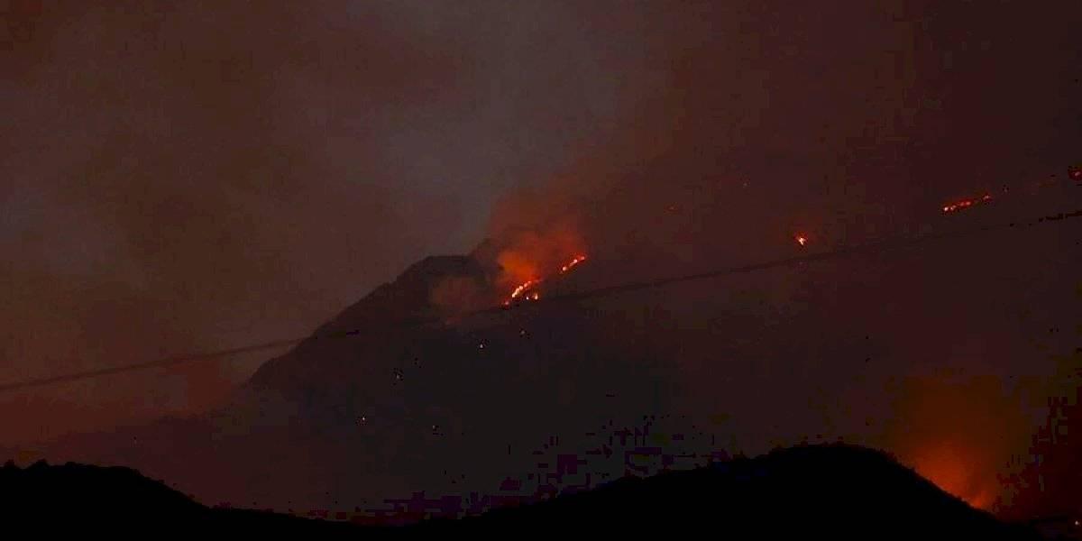 Declaran alerta en cuatro regiones del país por riesgo de incendio forestal debido a altas temperaturas