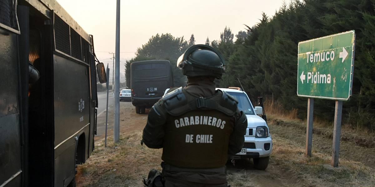 Dos comuneros mapuche heridos por Carabineros en Ercilla: recibieron más de 60 perdigones y uno está en la UCI