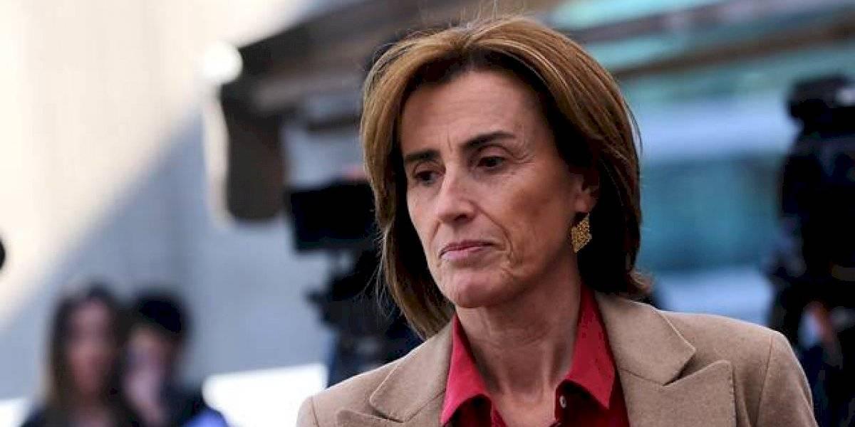 """Ministra Cubillos respondió a acusación constitucional y pide que se declare como """"no presentada"""" por """"no cumplir con los requisitos establecidos"""""""