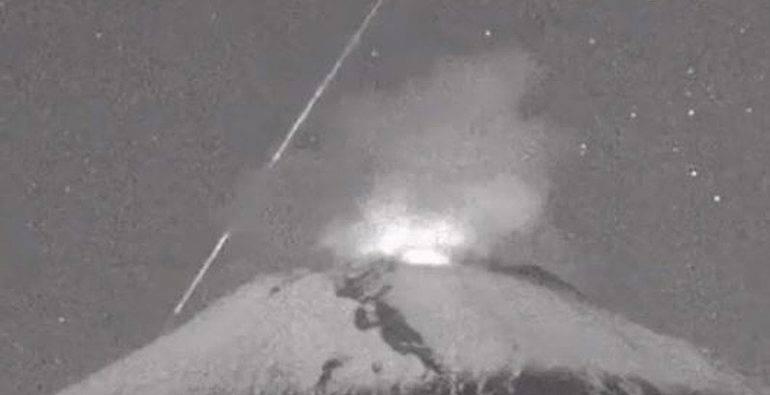 Popocatépetl meteorito