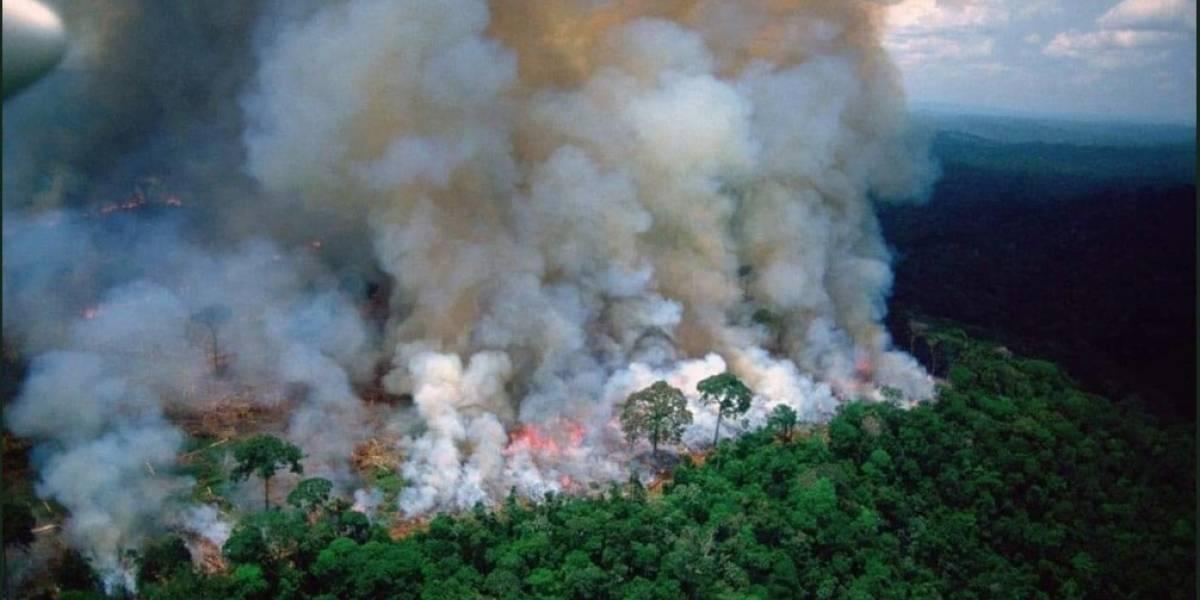 La Amazonía de Brasil lleva 16 días incendiándose