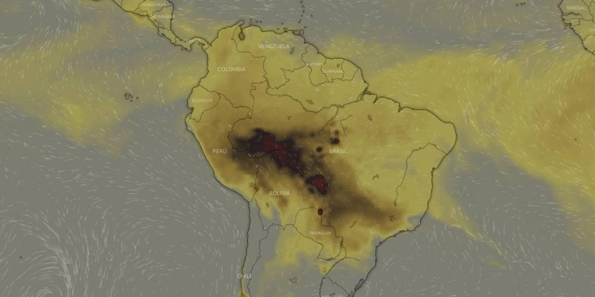 (Videos) Así devora el fuego a la selva del Amazonas, mientras Bolsonaro se hace el de 'la vista gorda'