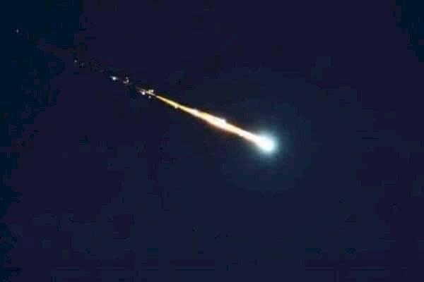 Meteorito en México: usuarios reportan caída de roca espacial a través de redes sociales