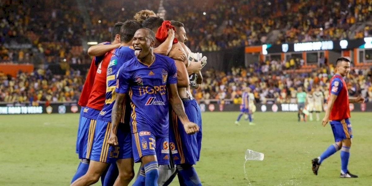El Tigres de Eduardo Vargas eliminó al América y se clasificó a la final de la Leagues Cup