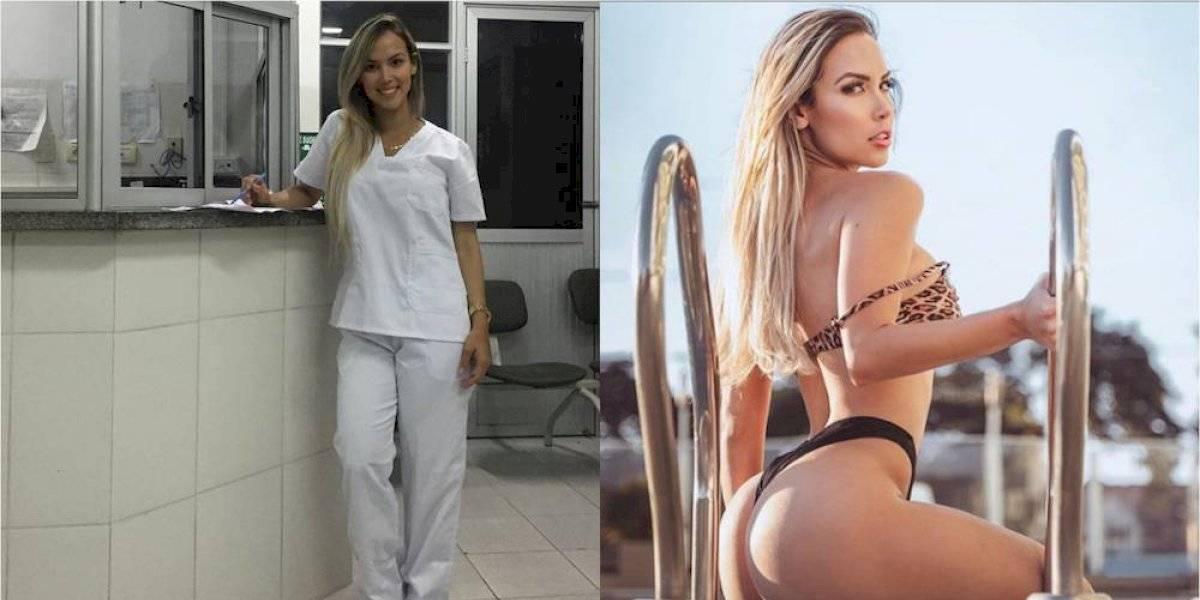 Rayane Laura Souza, doctora francesa que quiere ganar el Miss BumBum World