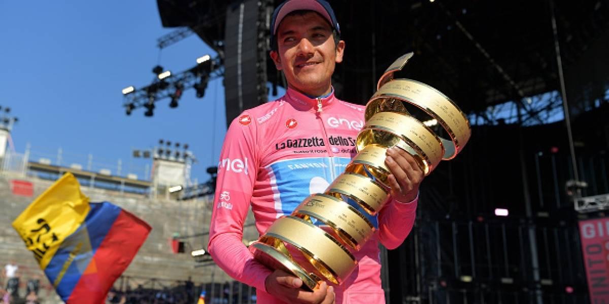Richard Carapaz se perderá el Tour de Gran Bretaña por inconvenientes con la visa