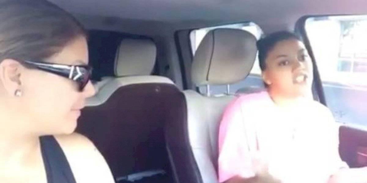 VIDEO: La nena de Olga e Igor freestylea mejor que muchos