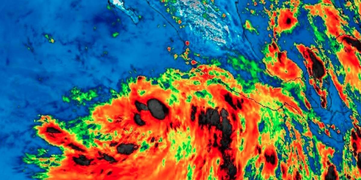 Se forma tormenta tropical Ivo en el Pacífico mexicano