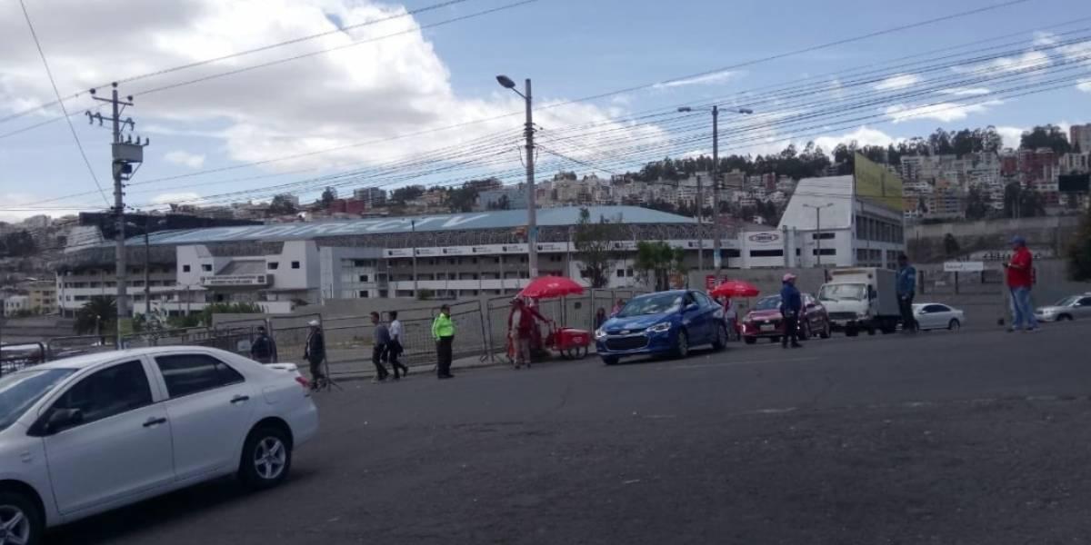 Cierres viales por el partido Liga de Quito vs Boca Juniors