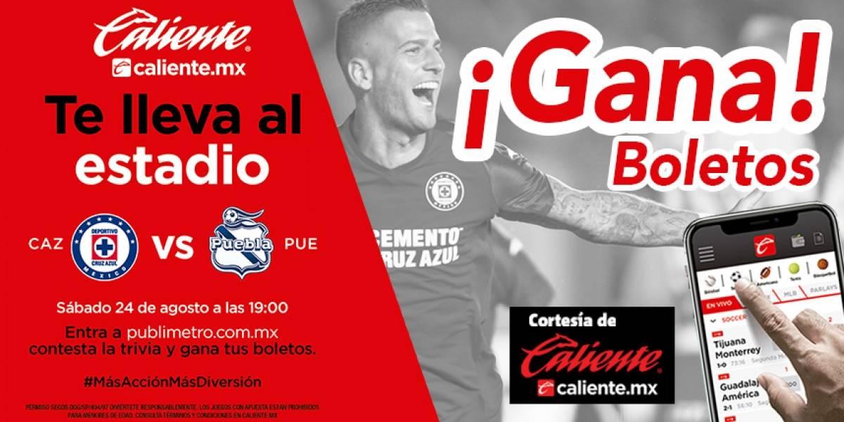 Gana pase doble para el partido Cruz Azul vs Puebla