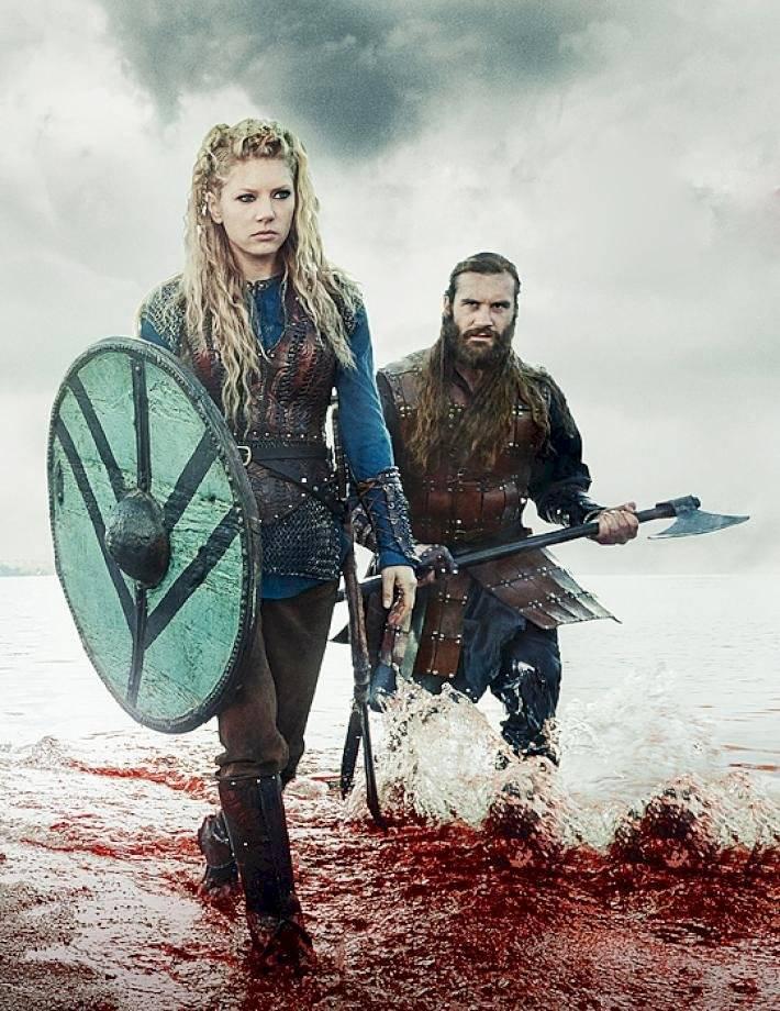 Vikingos: ¿Qué hacen Lagertha y Rollo juntos? Internet
