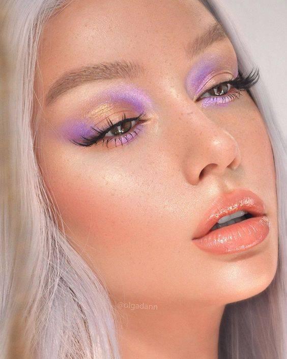 maquillaje neon