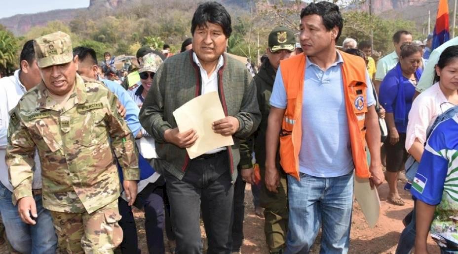 Incendio en la Amazonía: Bolivia alquilará avión cisterna para combatir las llamas AFP