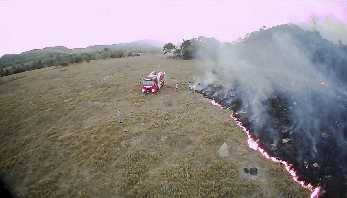 Incendios en el Amazonas, en Brasil Foto: AP