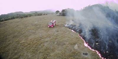 Incendios en el Amazonas, en Brasil