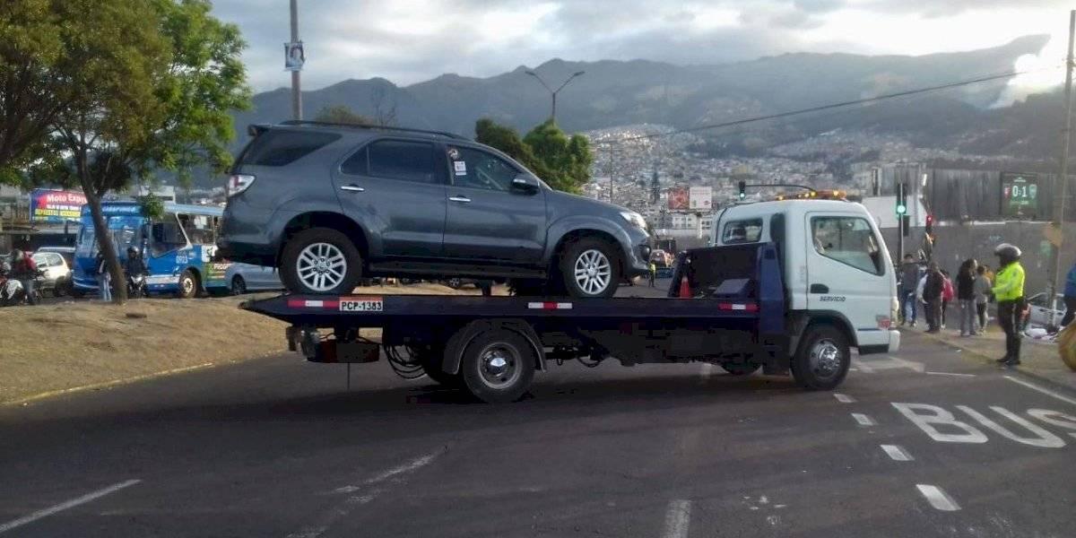 AMT: Operativos de mal estacionados se amplían en todos los espacios de Quito
