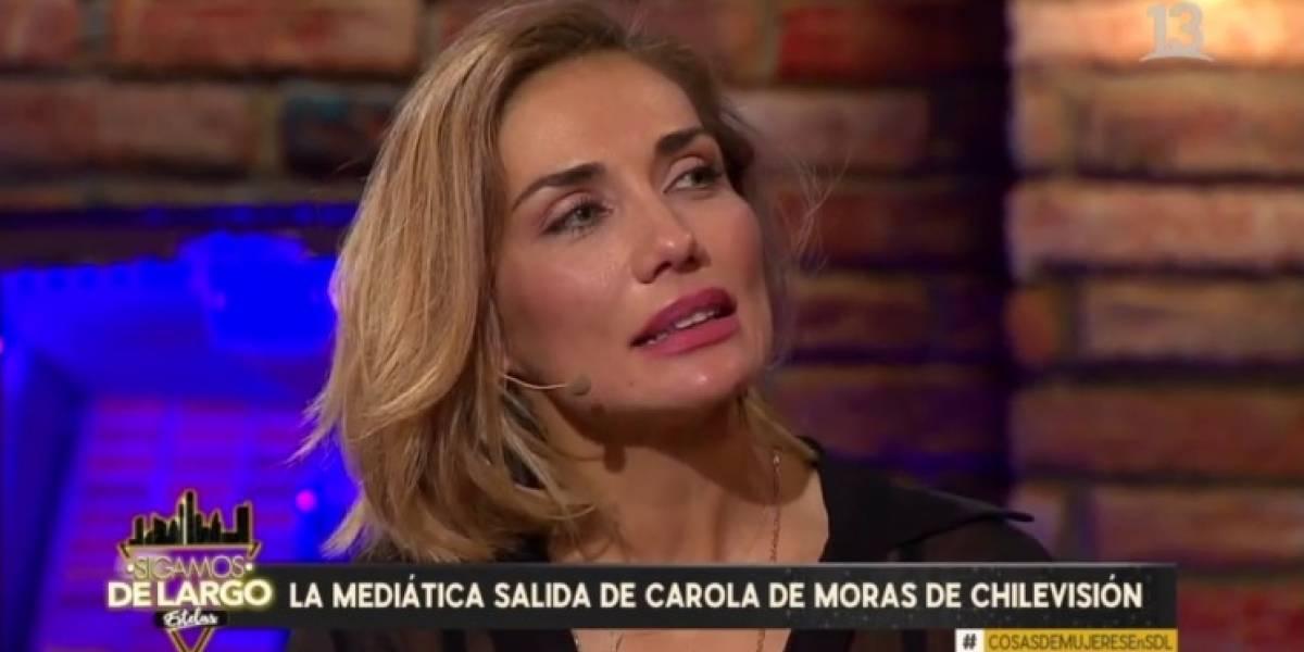 """Carola de Moras aclaró polémica con Rafael Araneda: """"Se rompieron las confianzas"""""""