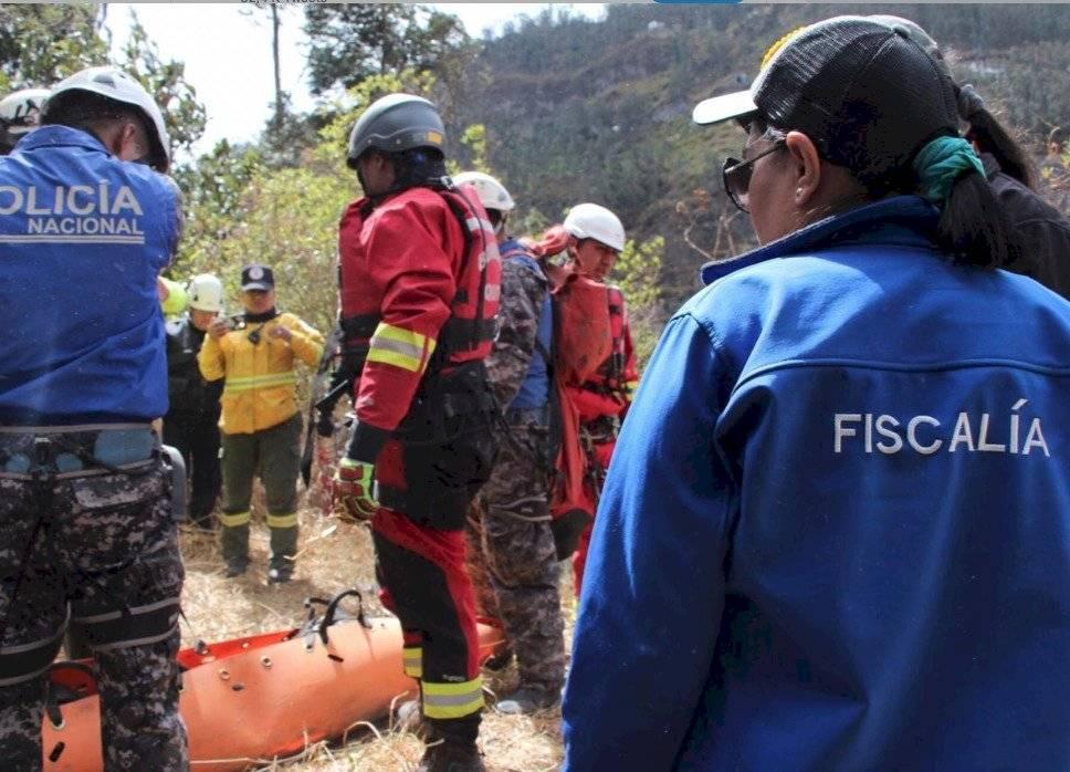 Cadáver hallado en el Machángara Fiscalía Ecuador