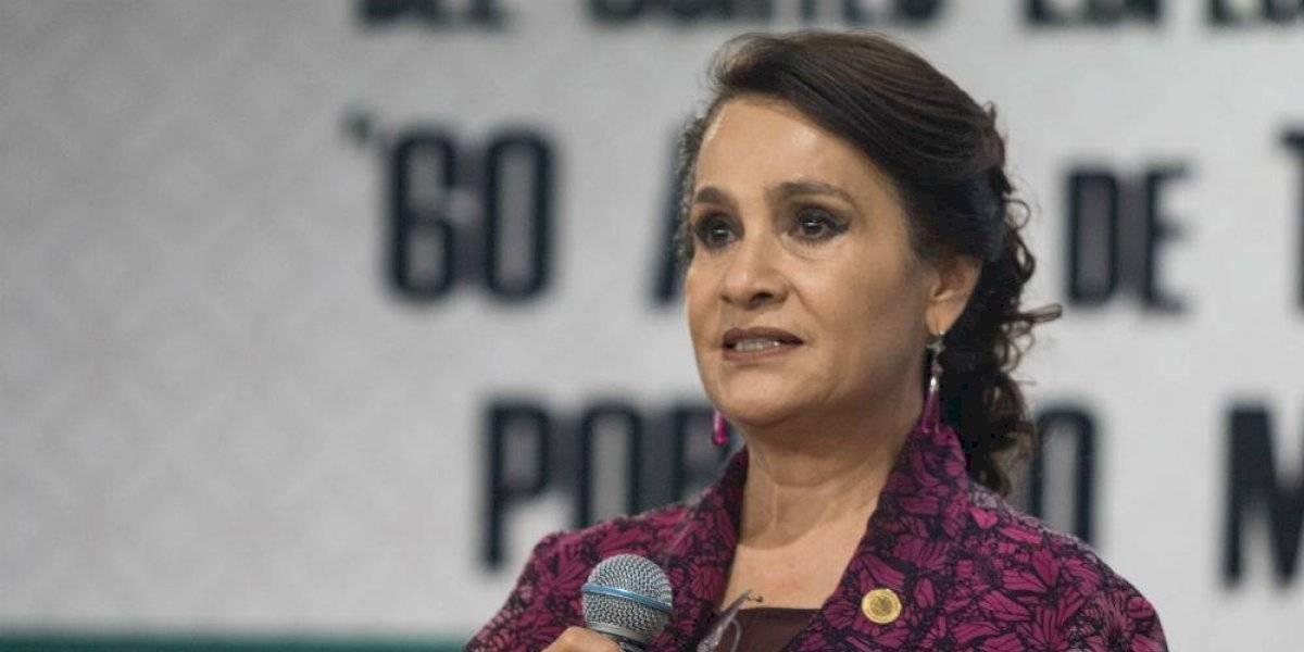 Investigación por Estafa Maestra debe ir más allá de Rosario Robles: Padierna
