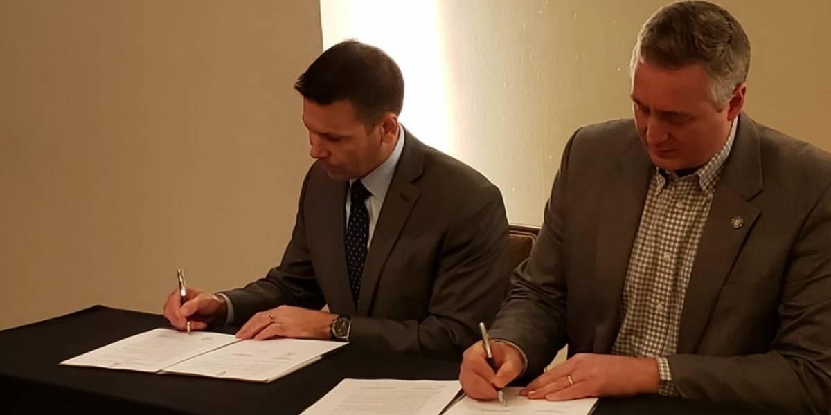 Gobernación suscribe un nuevo acuerdo con EE. UU.