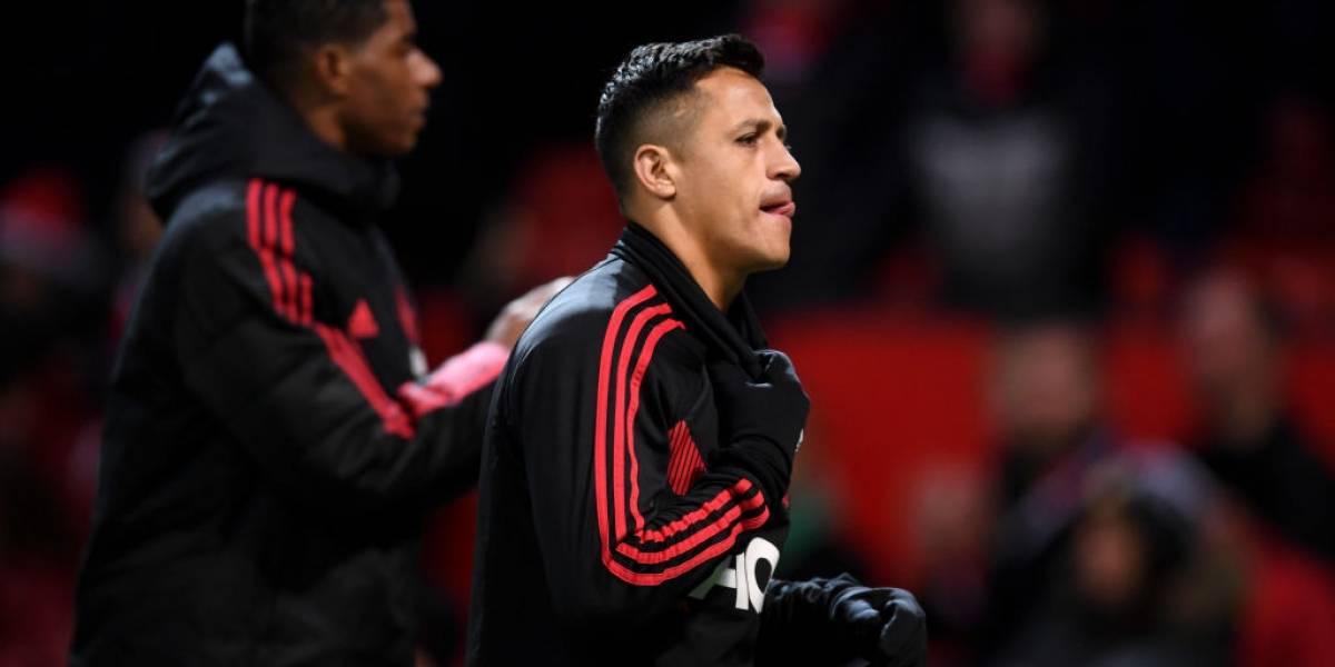 ¿Se va o no? Alexis Sánchez pidió permiso para ausentarse del entrenamiento del Manchester United