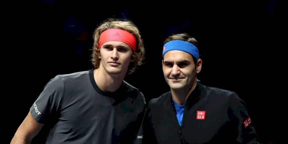 Partidazo en Chile: Roger Federer se medirá con Alexander Zverev en su histórica visita al país