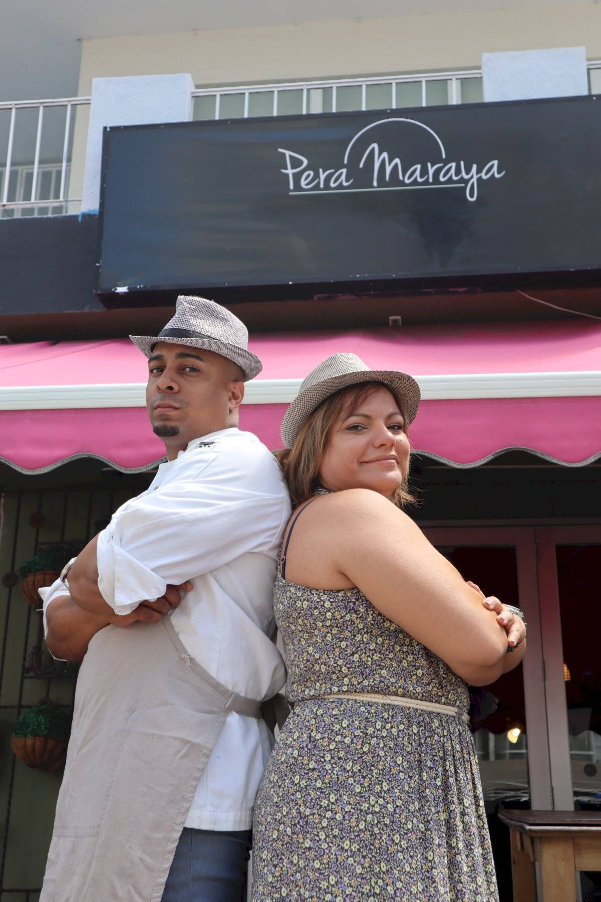 José Sánchez y Saskia Martínez, propietarios de Pera Maraya. l Fotos por Perla Alessandra Hernández