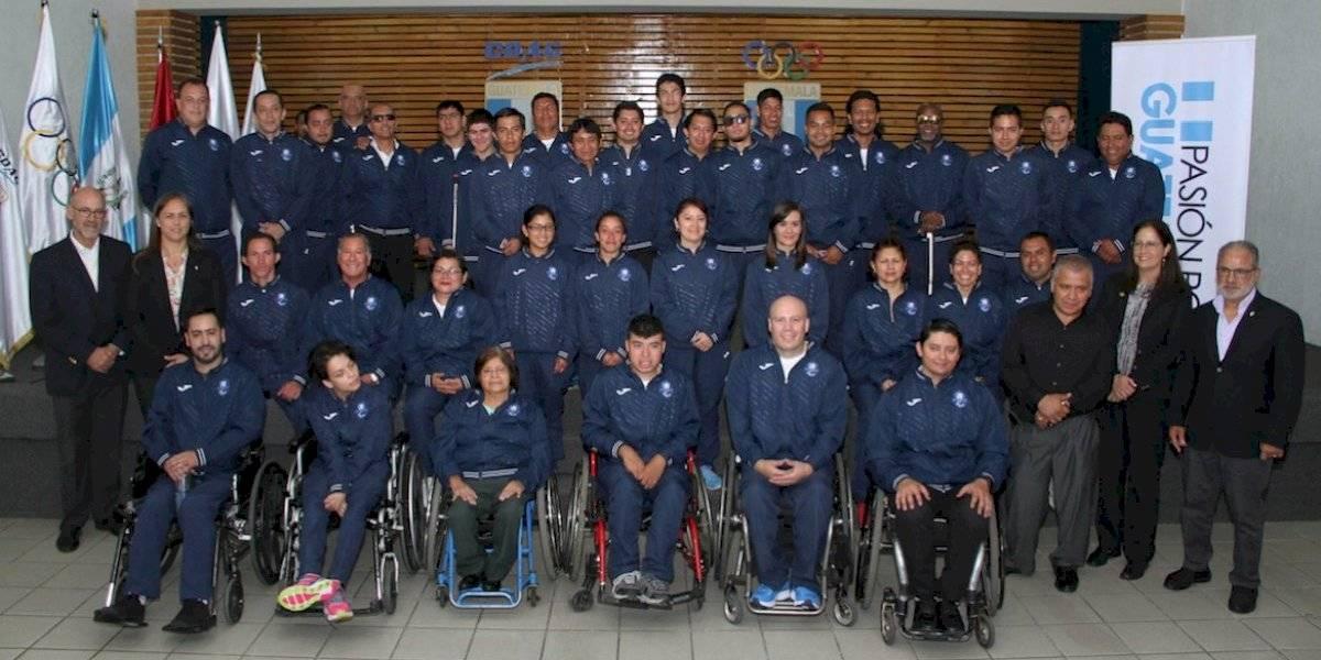 ¡Guerreros! Guatemaltecos desfilarán en los Juegos Parapanamericanos de Lima