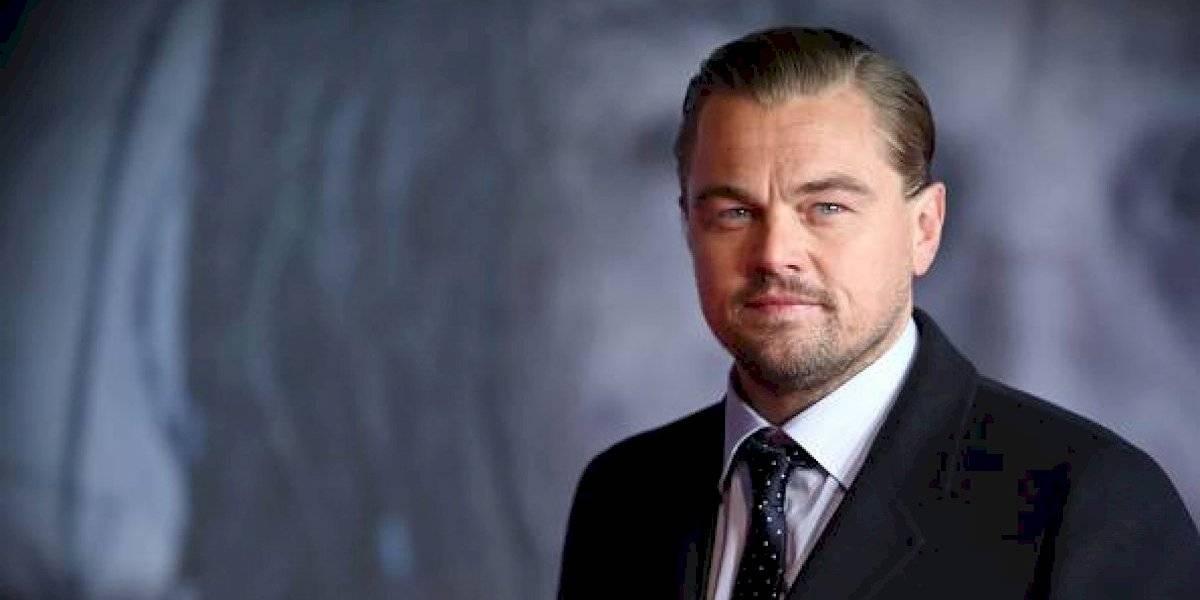 Leonardo DiCaprio reaccionó al terrible incendio de la Amazonía