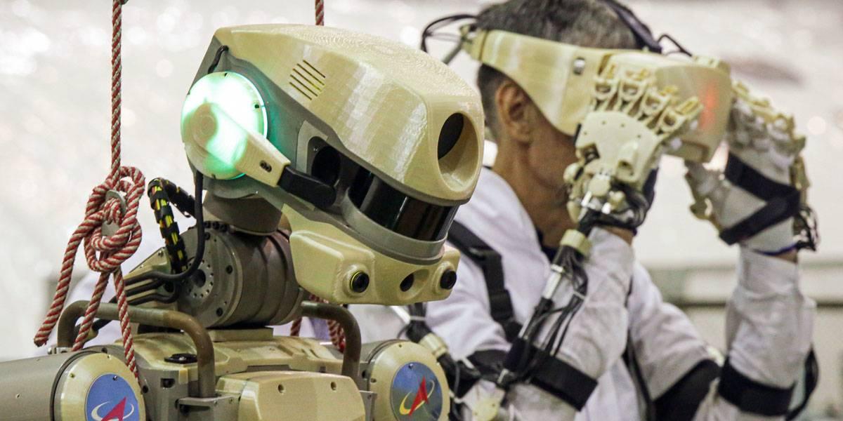 Nave Soyuz MS-14 manda un robot humanoide al espacio