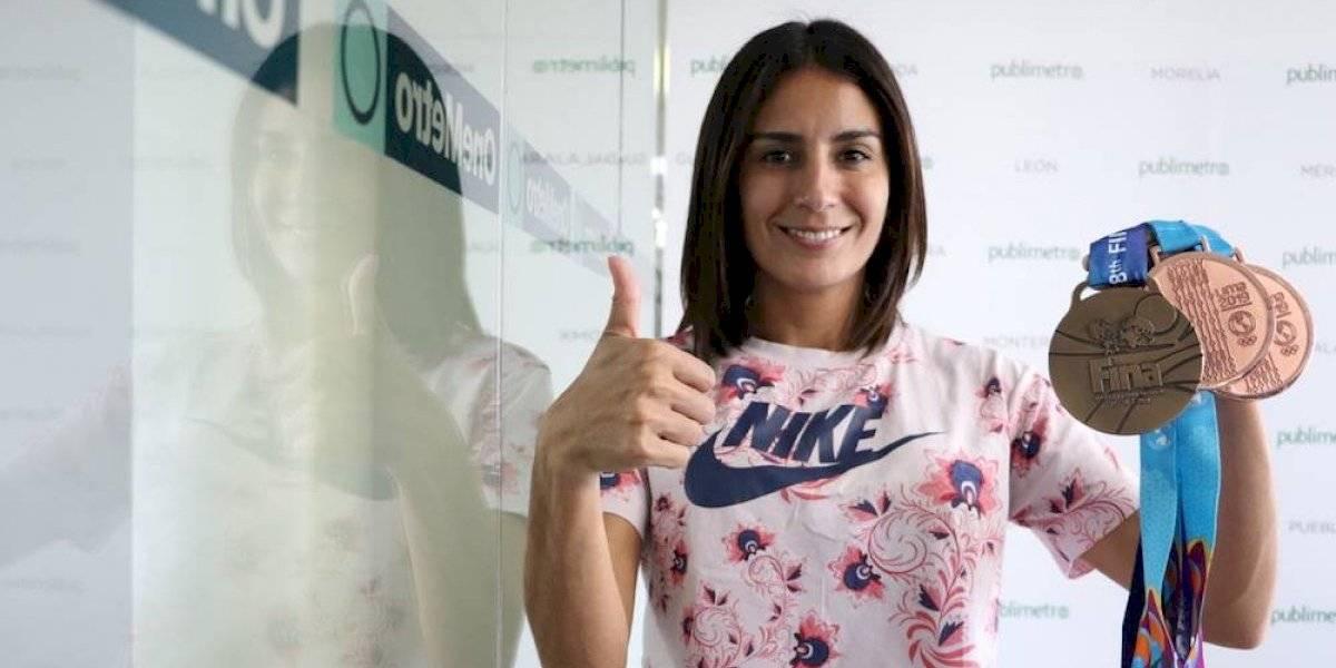 VIDEO: Paola Espinosa agradece recibir premio al mérito deportivo