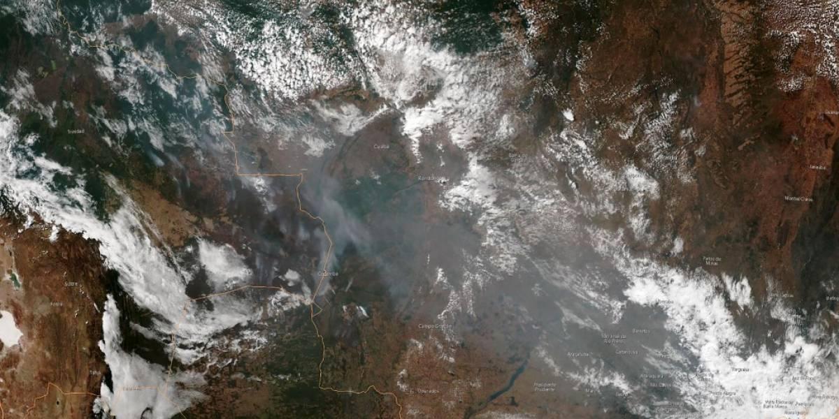 Perú decreta alerta por feroces incendios en la Amazonía