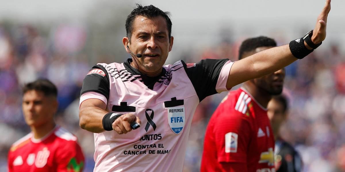 Julio Bascuñán será el árbitro para el Clásico Universitario que animarán la U y la UC