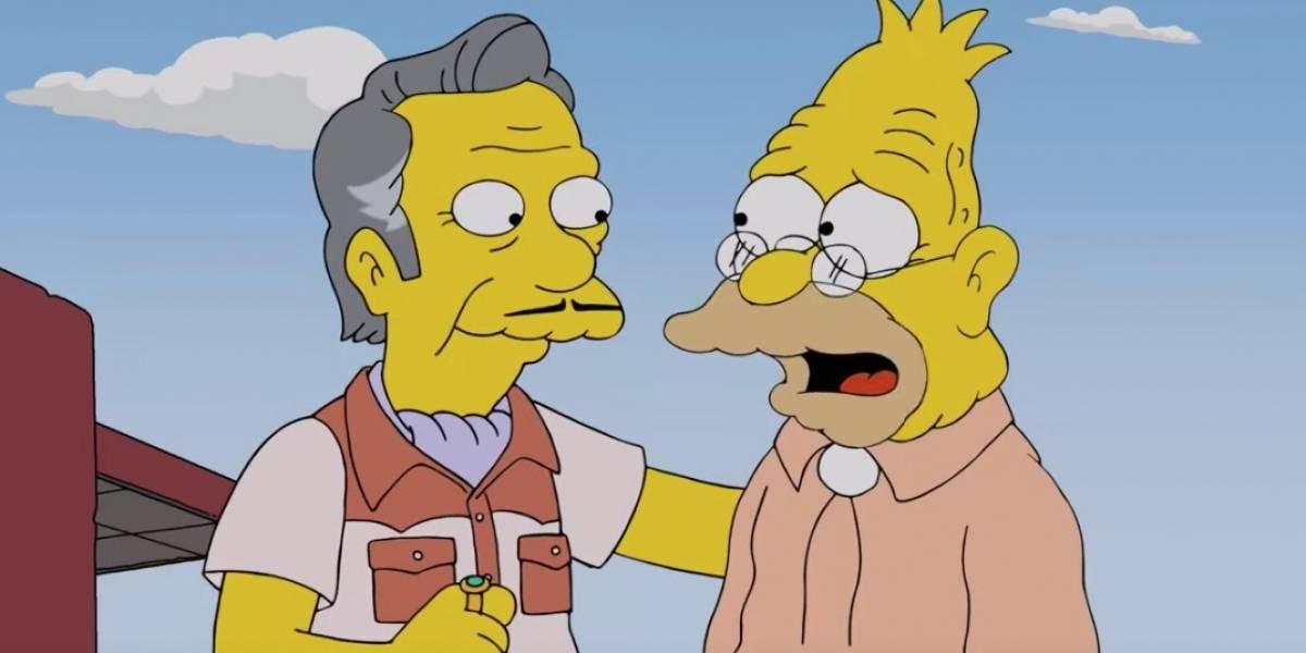 Los Simpson: El abuelo Simpson protagoniza una escena gay