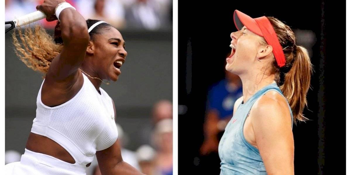 Serena vs. Sharapova, el primer duelo de altura del US Open más millonario