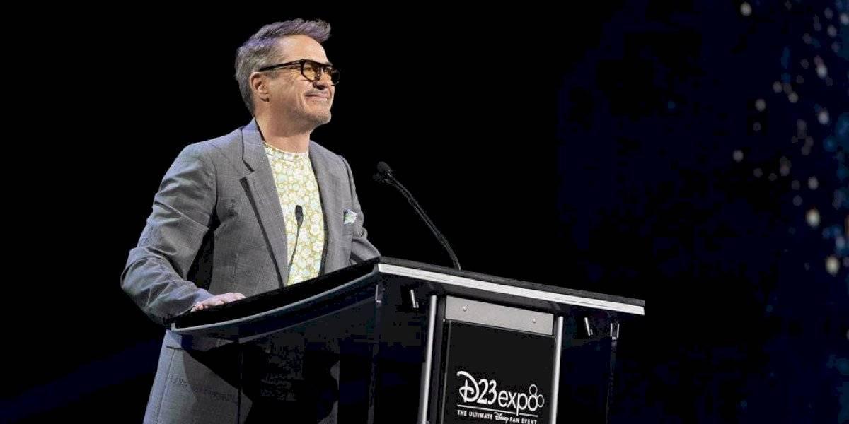 """Robert Downey Jr. recibe el premio """"Leyenda Disney"""" en el inicio de la Expo D23"""
