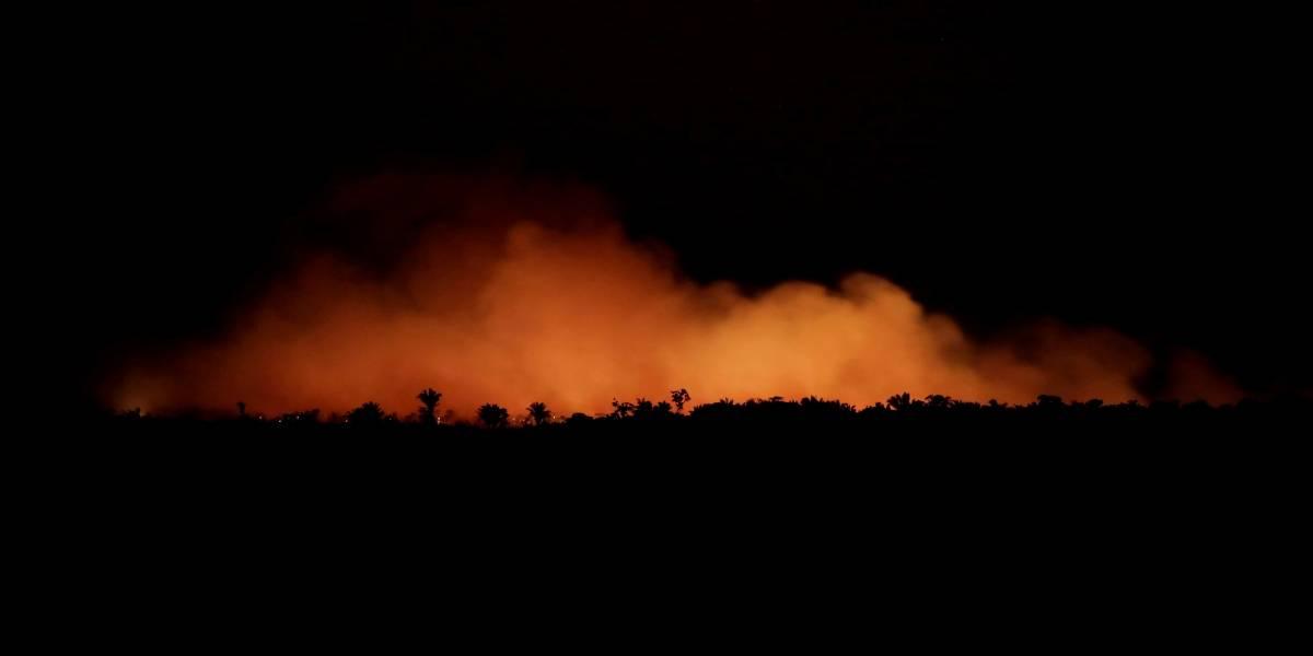 Governo pode usar Exército para combater queimadas na Amazônia