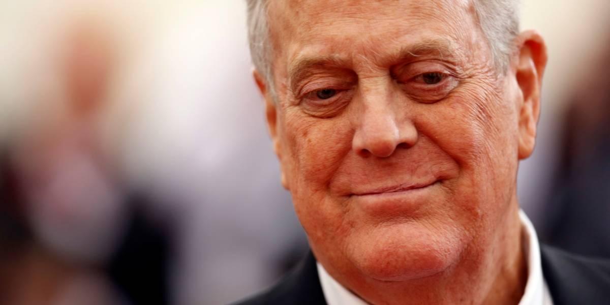 Oitavo homem mais rico do mundo, David Koch morre aos 79 anos