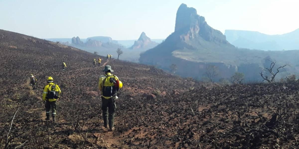 Supertanker en Bolivia: avión comenzó hoy a apagar las llamas de la selva amazónica