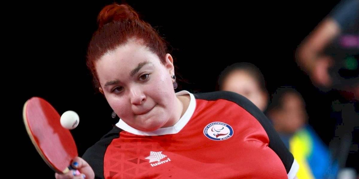 El tenis de mesa le entregó el primer oro a Chile en los Parapanamericanos de Lima