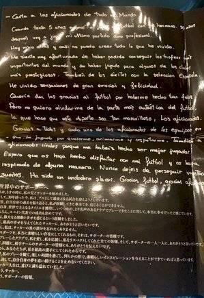 Carta Fernando Torres