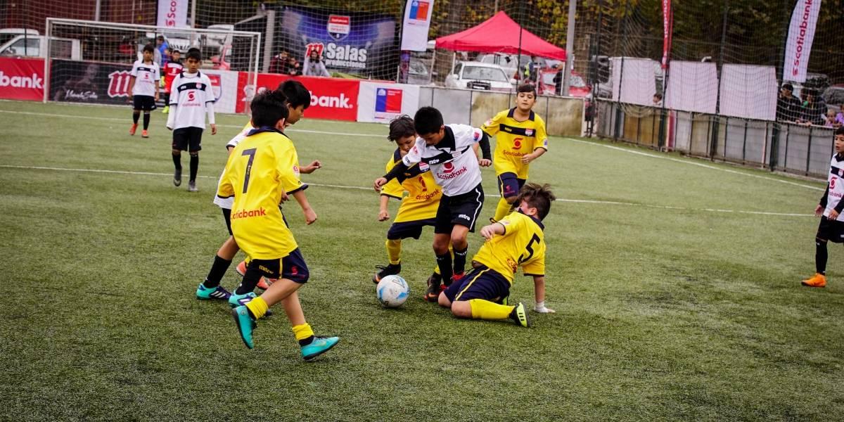 Santiago se prepara para recibir la sexta fecha del Campeonato Nacional Infantil Scotiabank 2019