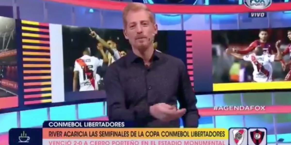 El periodista argentina Liberman generó polémica por críticas a Liga de Quito