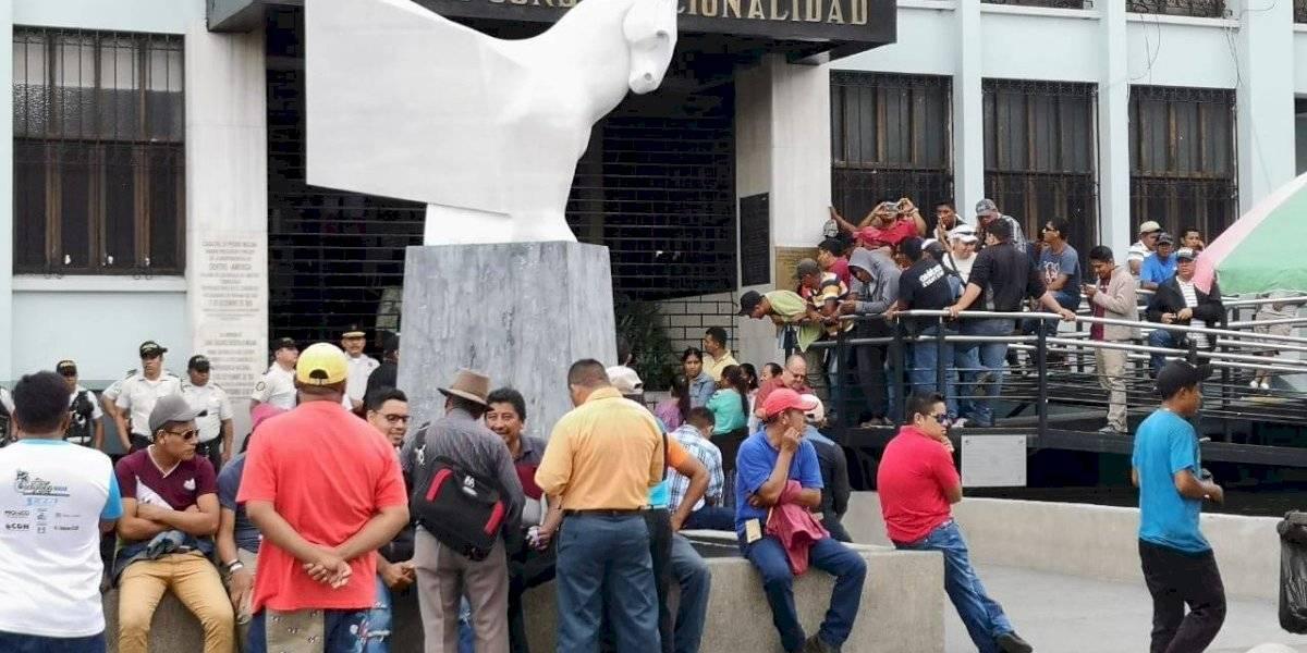 Reanudan actividades en CC tras incidentes con manifestantes