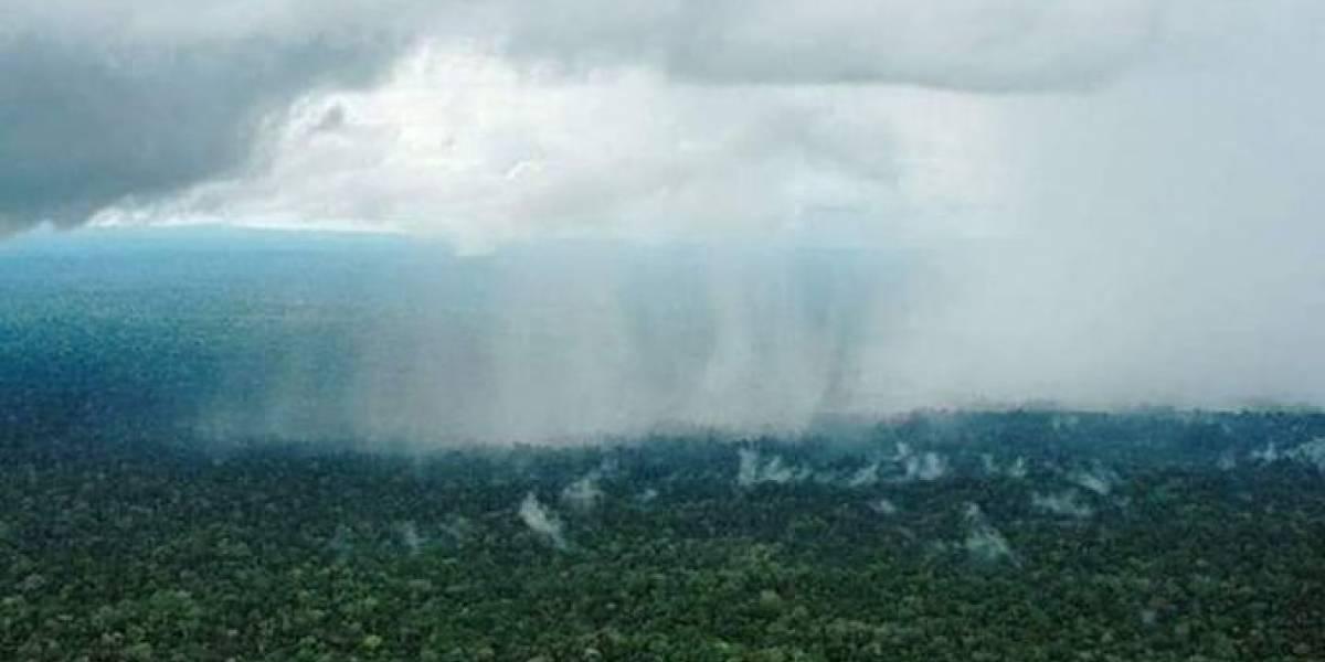 Fake News y #PrayForTheAmazonas: No está lloviendo en el Amazonas